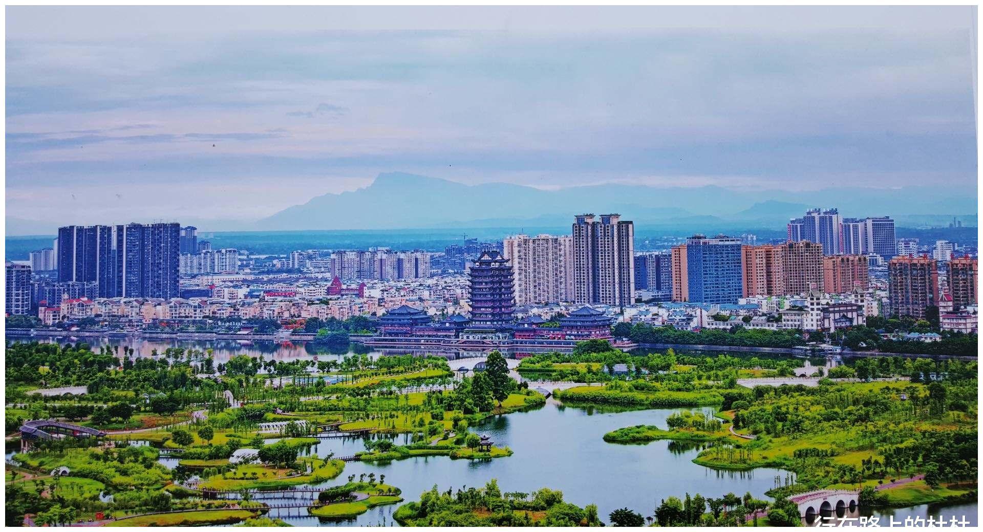 千载诗书城四川眉山,五大古镇,小众却拥有山水画般的风景