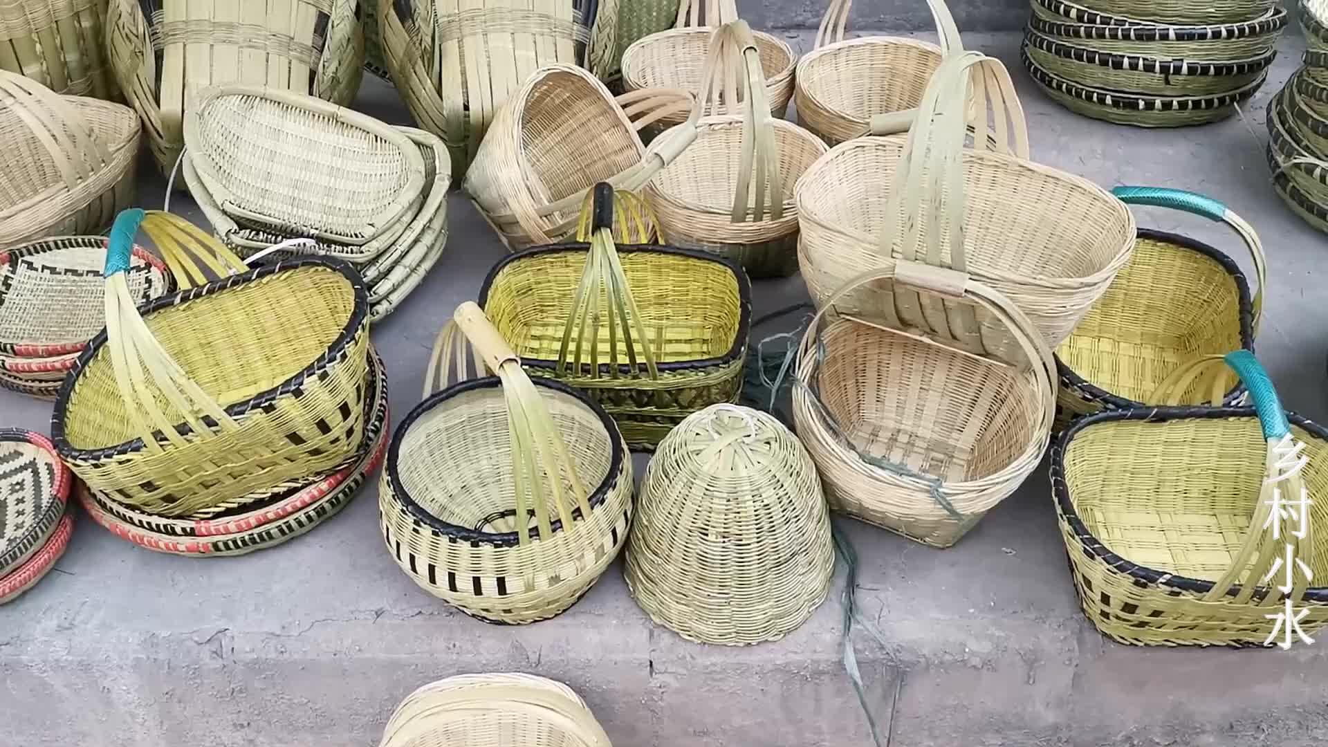 即将失传的老手艺,竹制品精美又实用,会制作的人越来越少了