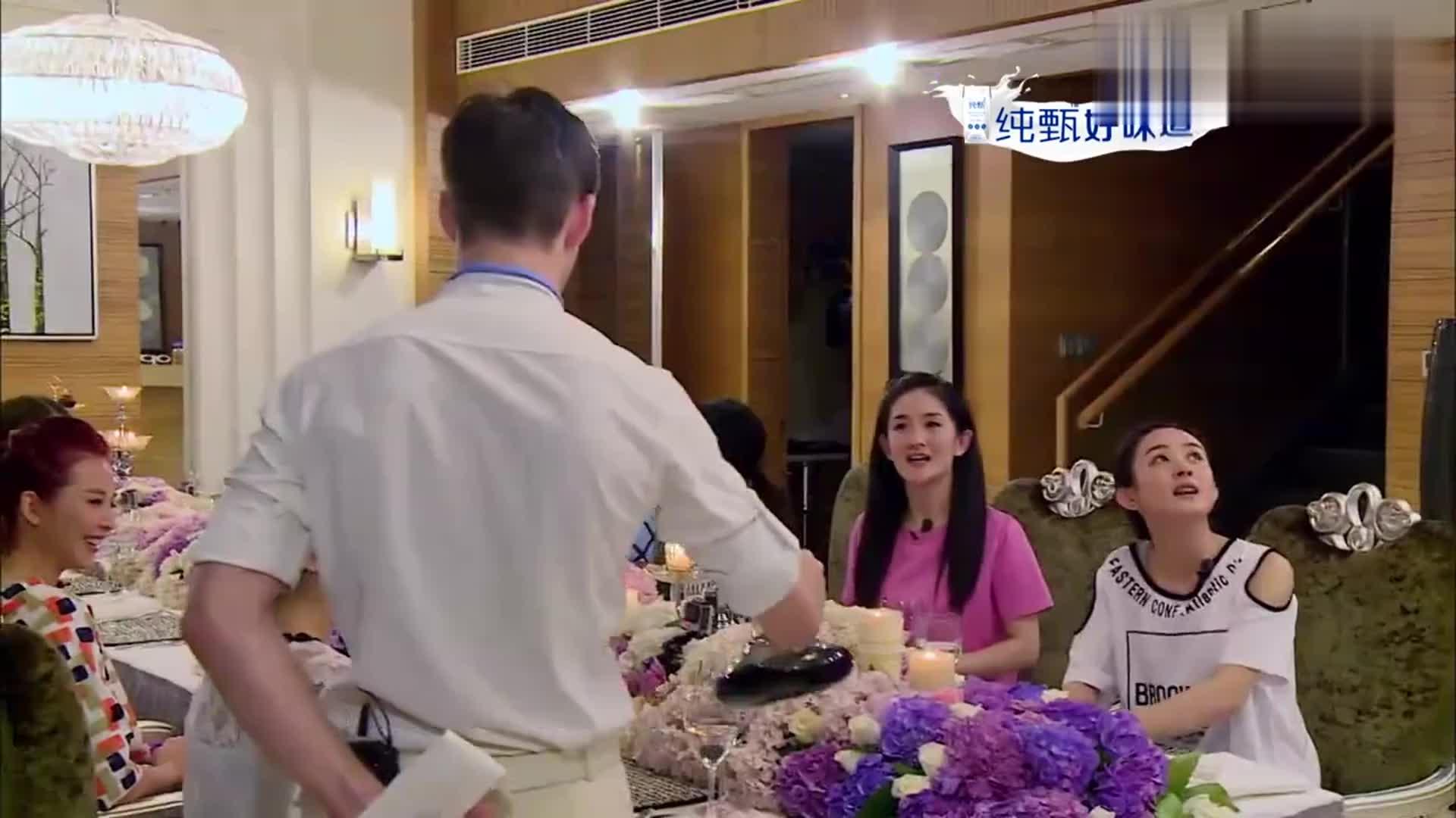 蔡少芬见汪涵重逢太激动,拿起酒杯一饮而尽,网友-不愧是皇后!