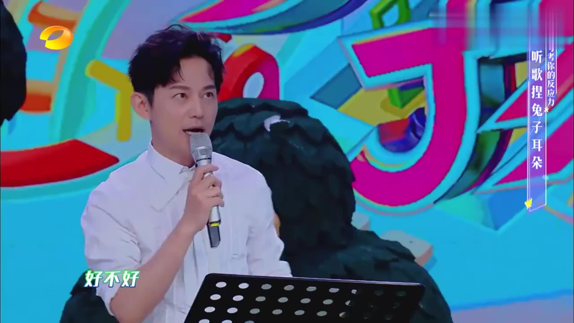 快本-罗云熙首次挑战动作儿歌,竟直接成功完成,不愧是孩子王!