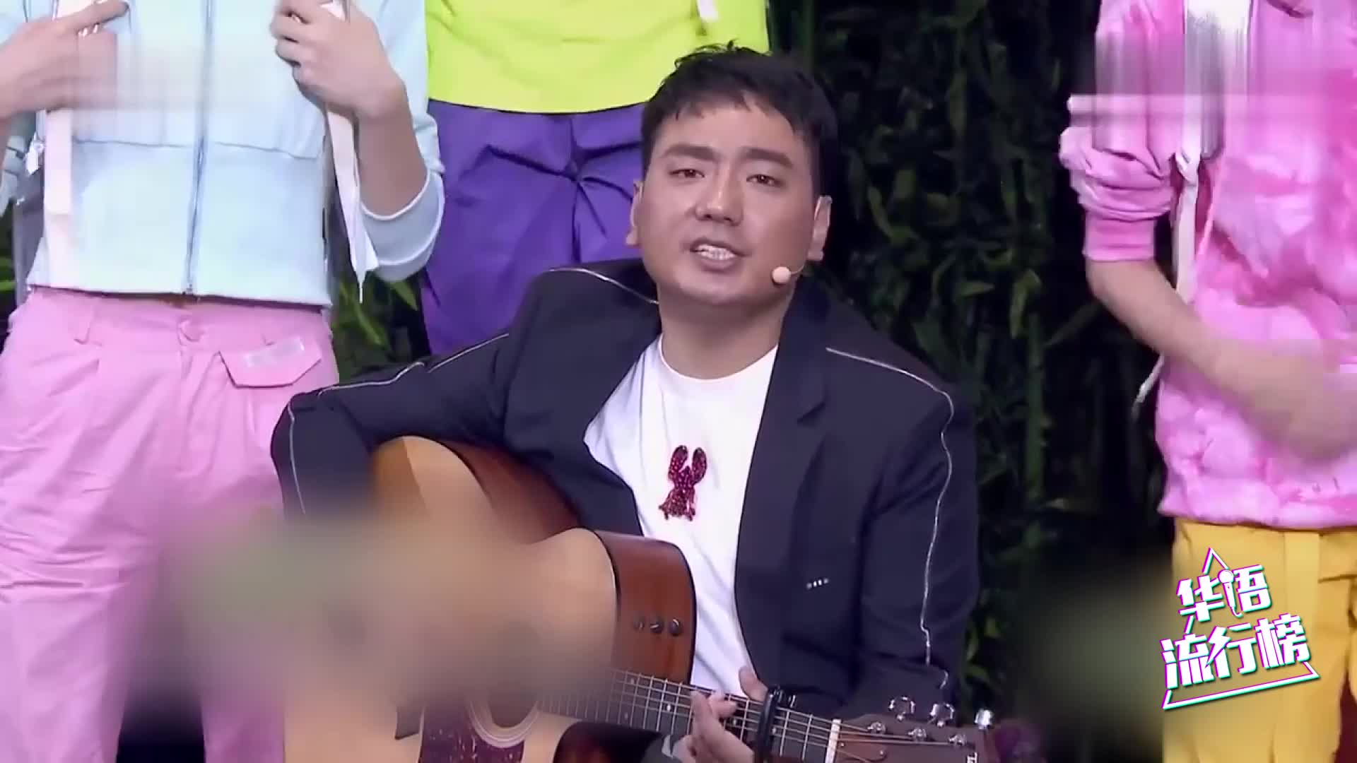 英雄爱英雄!海来阿木与跳水世界冠军周吕鑫登台央视共唱经典!