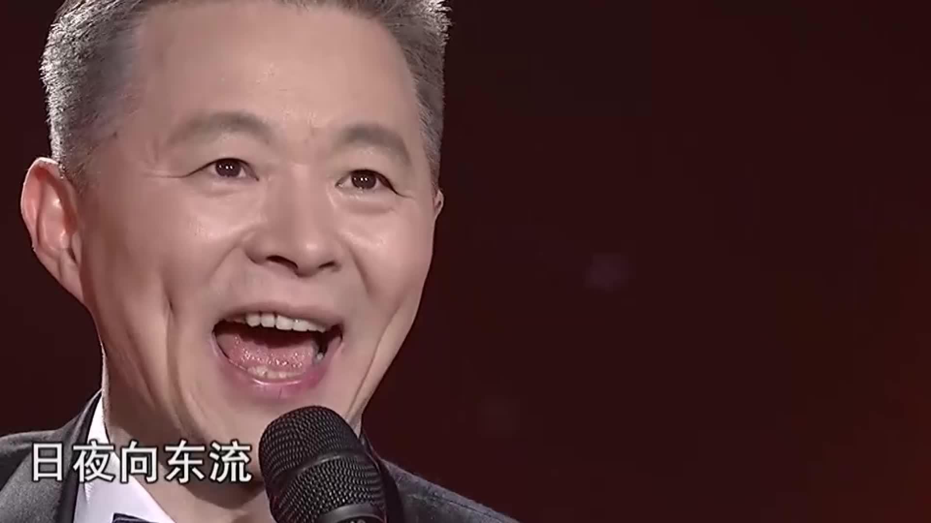 王宏伟再唱金曲《西部放歌》,嗓音嘹亮婉转,十分耐听的声韵