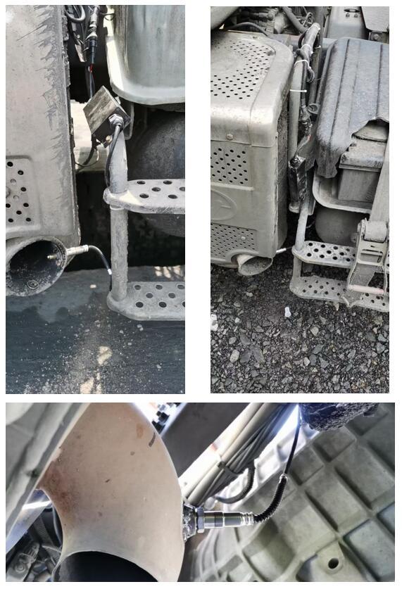 大同市重型柴油车OBD及尾气颗粒物监测安装案例