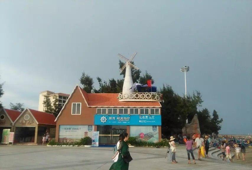 广西防城港白浪滩旅游景区