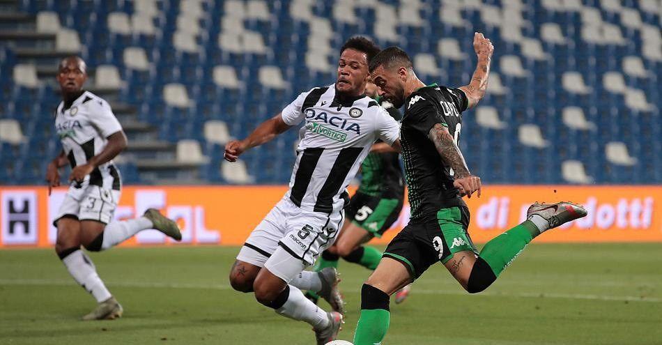 奥卡卡一球制胜,意甲末轮乌鸡乌迪内斯客场1比0小胜萨索洛