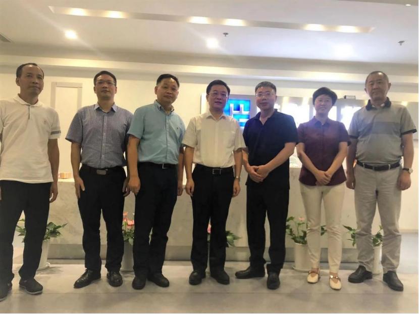 杭州市拱墅区区委书记朱建明到美创科技