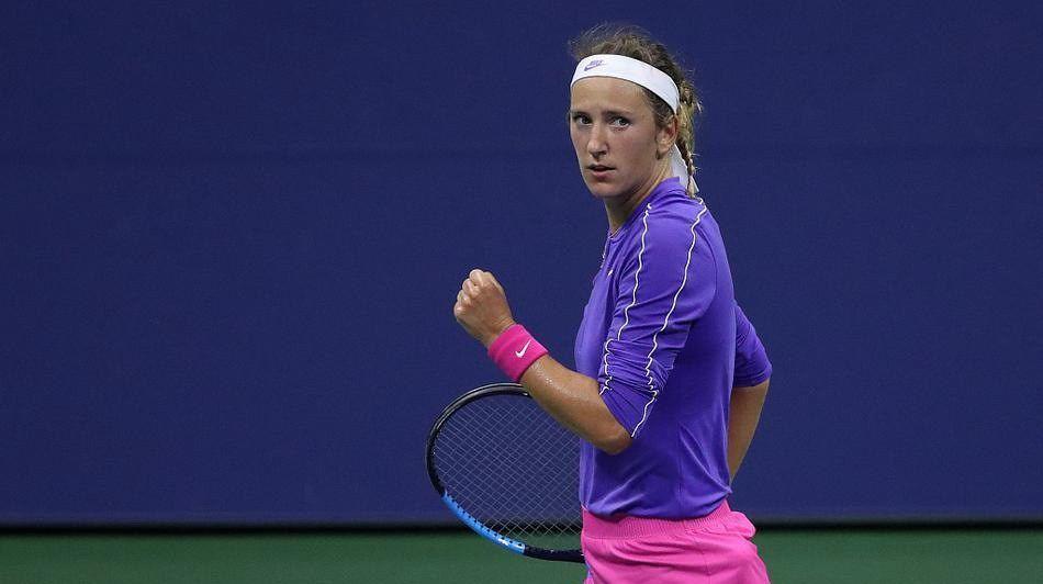 前世界第1阿扎伦卡2比0横扫比利时一姐梅尔滕斯,晋级美网女单4强