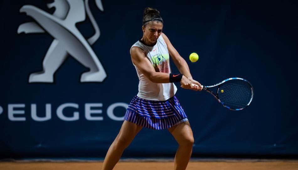 2020年巴勒莫女子网球公开赛,费罗2比0淘汰埃拉尼,晋级4强