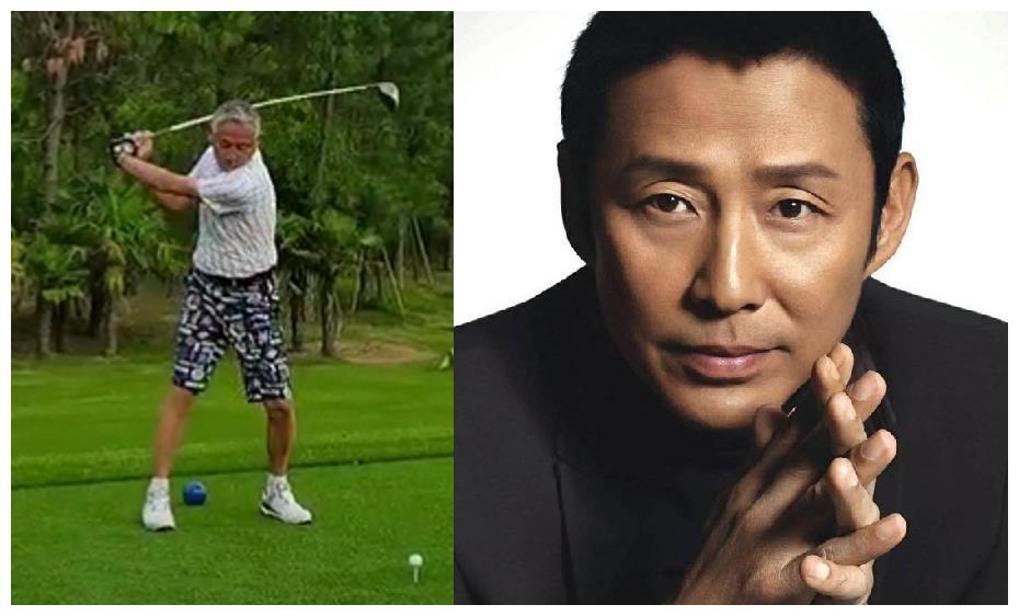 65岁陈道明白发苍苍,打高尔夫给千元小费被指要求高脏话多