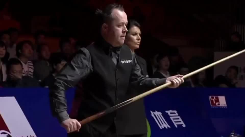 上海大师赛决赛决胜局:特鲁姆普惨遭希金斯逆转绝杀无缘夺冠