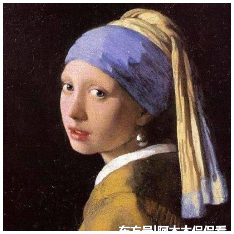 四位女星模仿世界名画,杨颖典雅,周冬雨青涩,她像是从画中走出