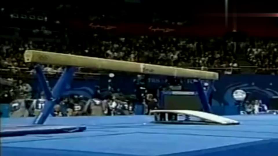 中国队刘璇这套体操平衡木比赛!被誉为百年难见的巅峰之作