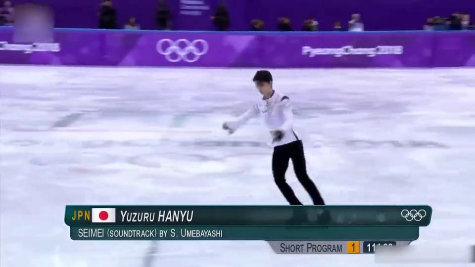 男子单人滑冰比赛,羽生结弦平昌冬奥会阴阳师表演