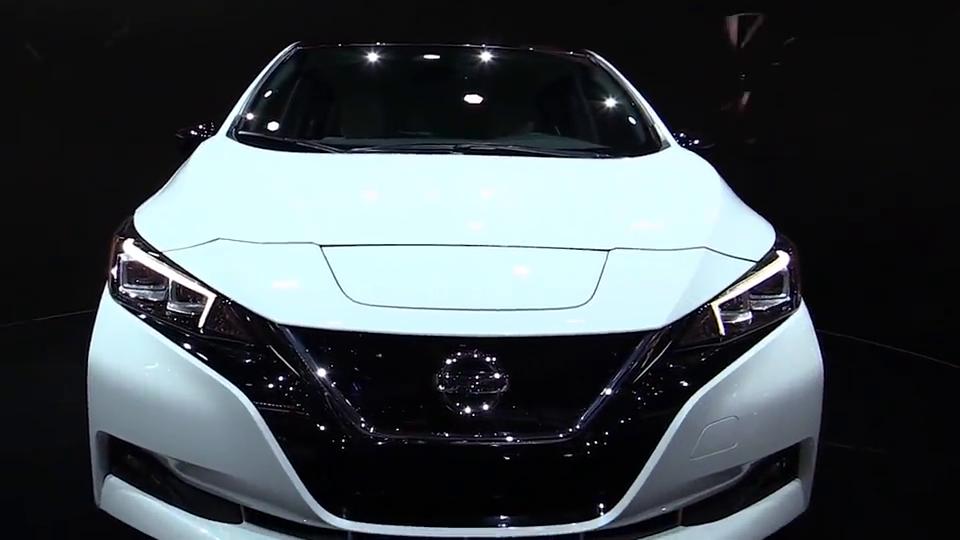 日产最美家轿2018日产聆风,全球最畅销电动汽车