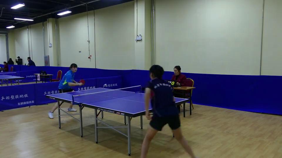 公开组女单8进4方晓宇vs唐思琪首届健鼎杯全国乒乓球积分大奖赛