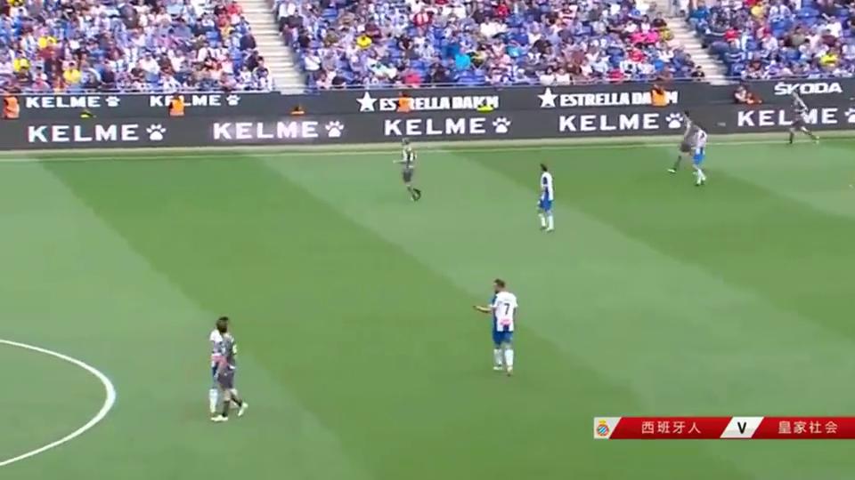 功成!武磊下场接受全场掌声,西班牙人球迷起立致意