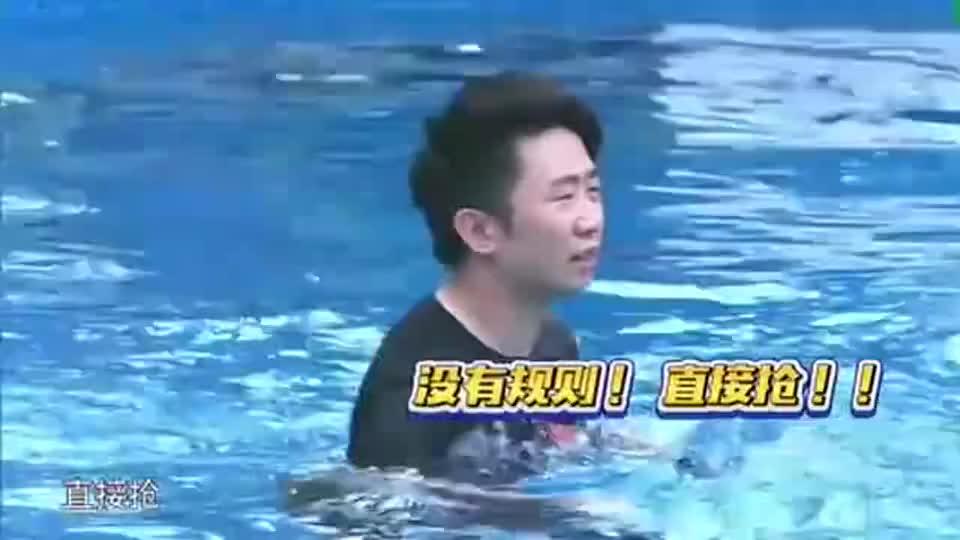 """少年团进行水上篮球,一山夏雨首开失败,你俩不愧是""""双胞胎"""""""