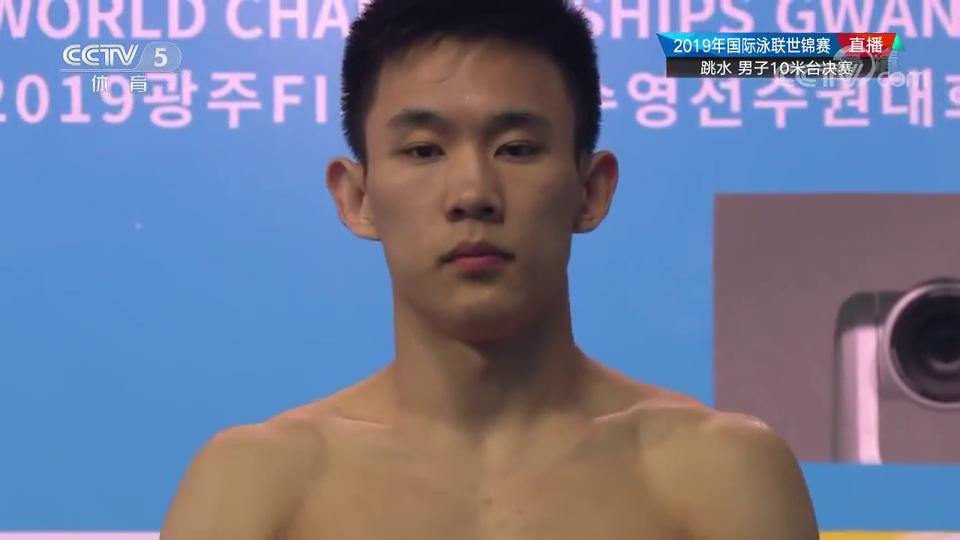 完美!跳水男子10米台杨健杨昊包揽世锦赛冠亚军