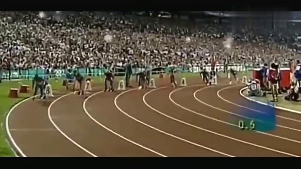 曾经的田径之王!回顾96年迈克尔约翰逊破200米纪录,轰动一时!
