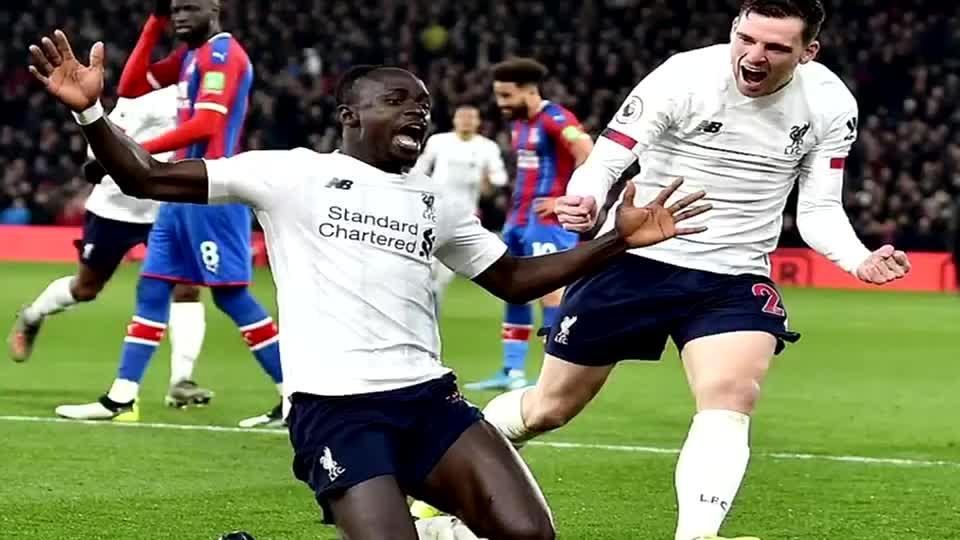 关键时刻头号突击手马内挺身而出 利物浦有惊无险击败水晶宫