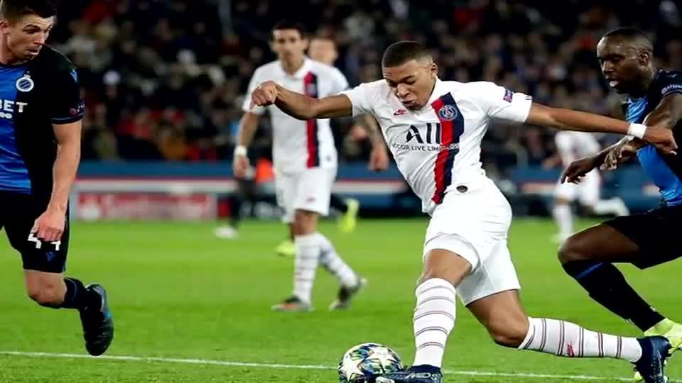 巴黎胜布鲁日欧冠提前2轮晋级 巴黎门神纳瓦斯保零封记录