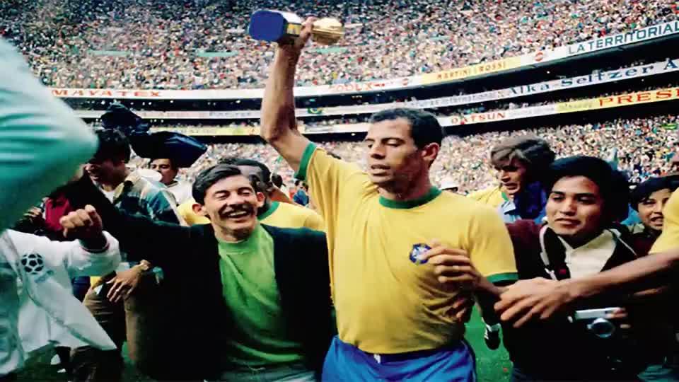 五星巴西世界杯百大进球 卡洛斯阿尔贝托完美进球锁定冠军
