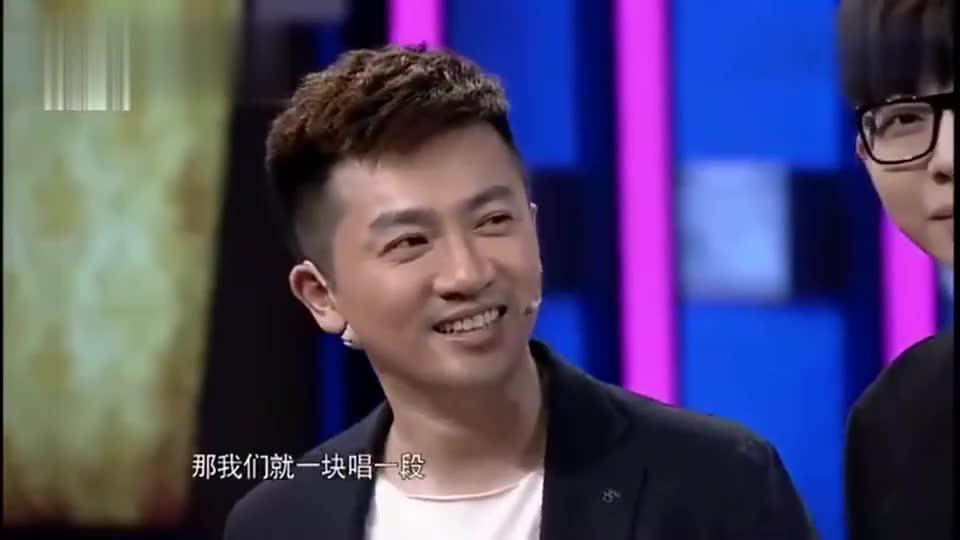 杨洋欧豪胡夏当着苏有朋的面唱《爱》难得一见的场面 ,太欢乐了