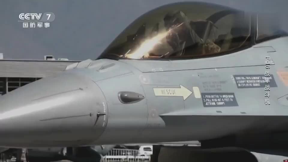 """F-16""""战隼""""是现役装备数量最多三代战斗机"""