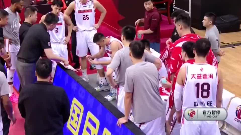 浙江广厦挑战广东男篮:有本事打进,没本事打球要合理