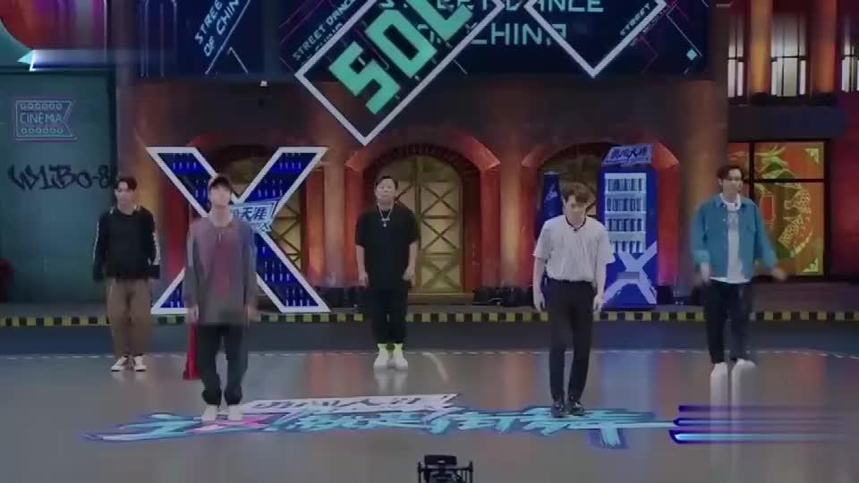 街舞3队长齐跳女团舞,王嘉尔也太会扭了吧!
