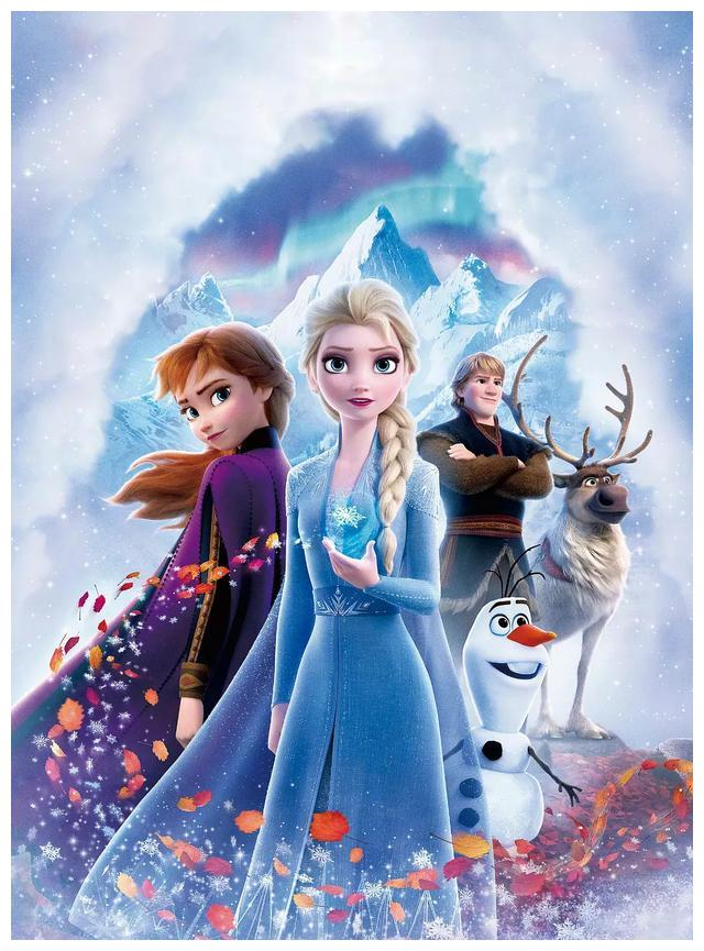 《冰雪奇缘2》童话魔法依旧存在,只不过褪色许多
