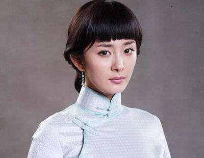 女明星的旗袍装造型,满足身材之后,发型也很重要呀