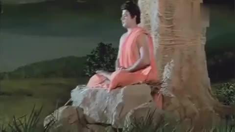 太神奇了,释迦牟尼坐在菩提树下,开悟终于成佛!