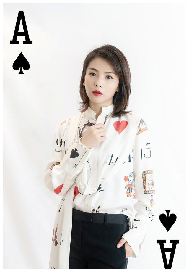 """刘涛造型太绝了,实力cos""""扑克牌"""",个性时髦范"""