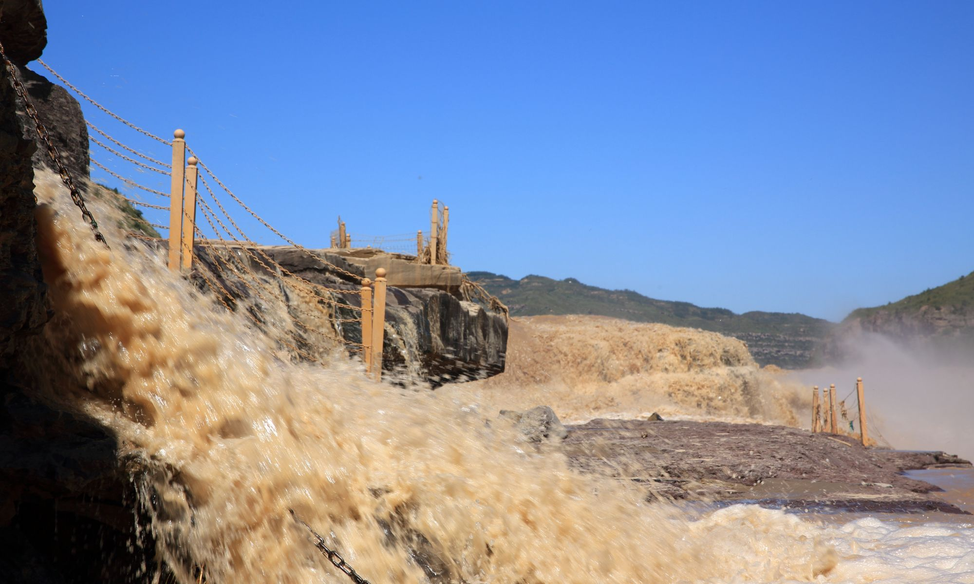 风光摄影:黄河壶口瀑布