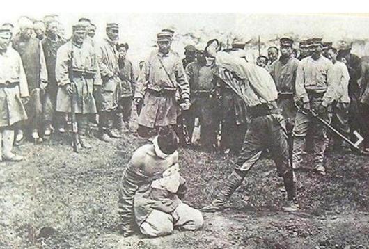 1904年日俄战争老照片 当时鲁迅就是因为看这弃医从文