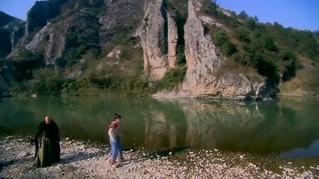 仙剑三:景天和邪剑仙赌钓鱼,赌注是天下人的食物!