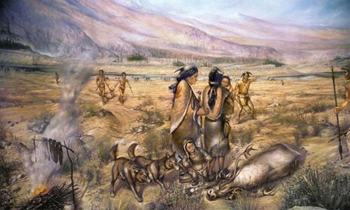 按照达尔文的进化论,推动人类向前发展的动力是什么?
