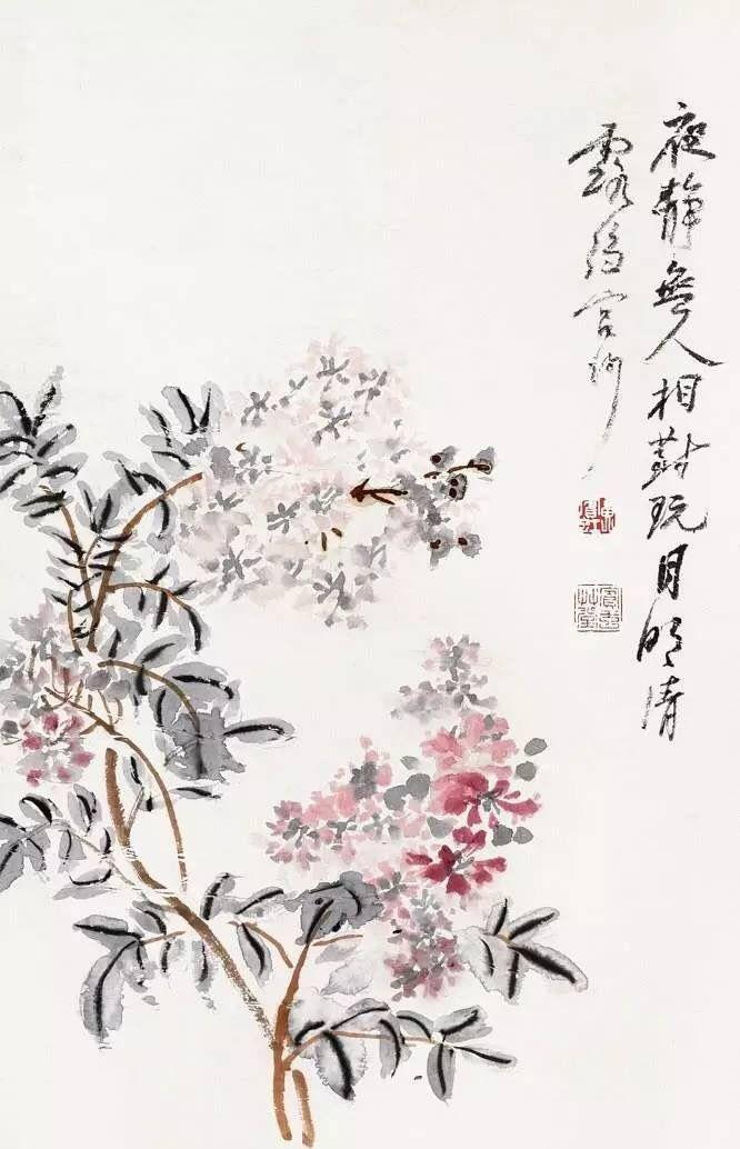 黄宾虹:世人皆知他为山水画宗师,然而,他的花鸟画鲜为人知