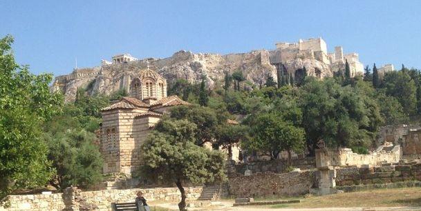 古代雅典城邦的心脏,展现了古希腊人的生活:雅典古市集遗址