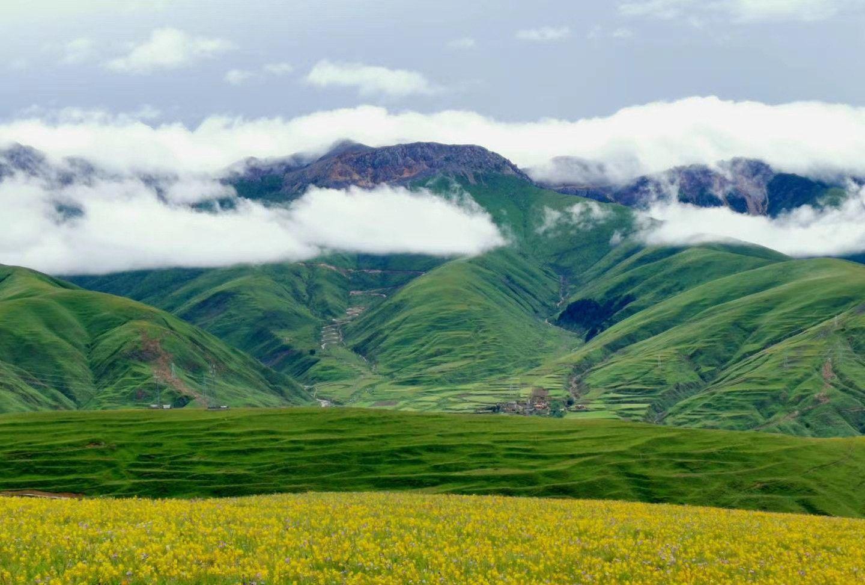 西藏阿里环线行第二十站:走进甘孜卡萨湖