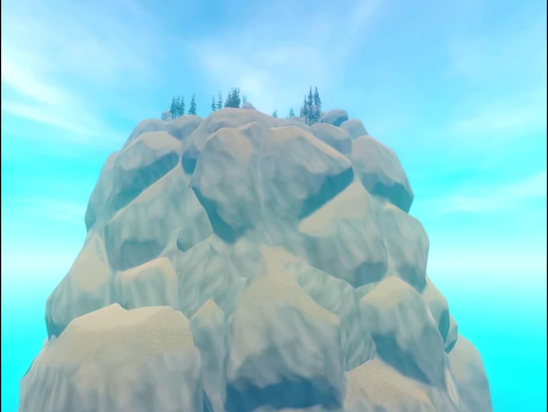 木筏求生:山顶上就是一个聚宝盆,资源异常的丰富