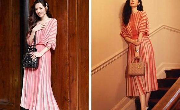 何穗和郭碧婷撞衫?平模VS超模,你更喜欢谁的呢?