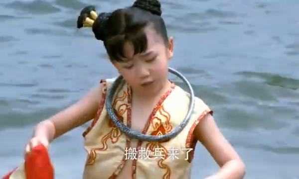封神英雄榜:龙王三太子找小哪吒的麻烦,结果被作成了腰带!