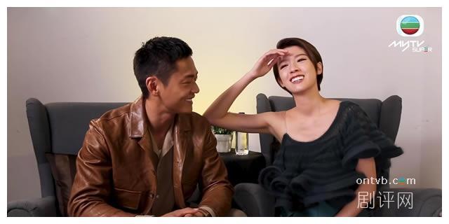 张振朗同蔡思贝由兄弟变情侣 奠定TVB最强CP组合