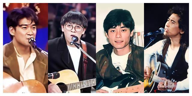 齐秦周华健王杰张雨生当年正年轻,吉他弹唱谁最行?