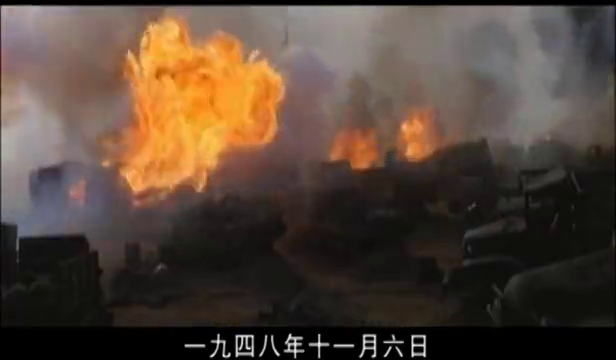 影视:淮海战役,傅作义请弟兄们喝酒,兄弟用小杯被傅作义摔杯