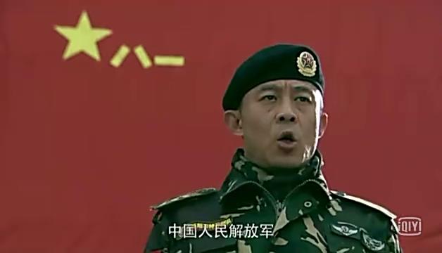 特种兵新队员入伍仪式,宣誓场景,振奋人心