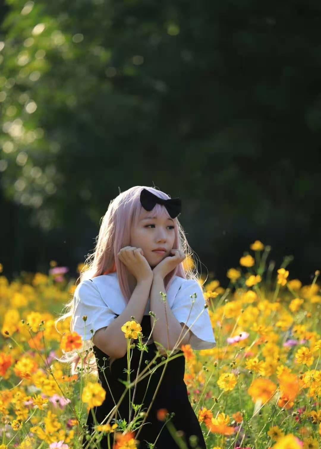 误入花丛中,花美人更美——北京奥林匹克森林公园初拍!