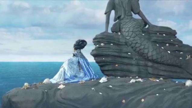 轩辕剑:古月和人鱼初次相见,二人一见钟情